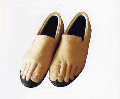 kapcie stopy